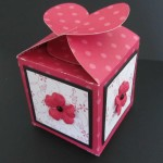 Heart Box Using Cricut Tags Bags Boxes and More Cartridge