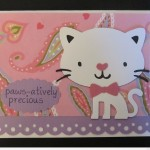 Paws-atively Precious stamp by My Pink Stamper - Cat by Create A Critter