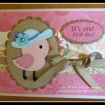 Bird Birthday Card Using Create A Critter 2