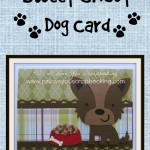 Cricut Dog Card for Any Occasion