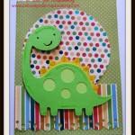 Cricut Dinosaur Card