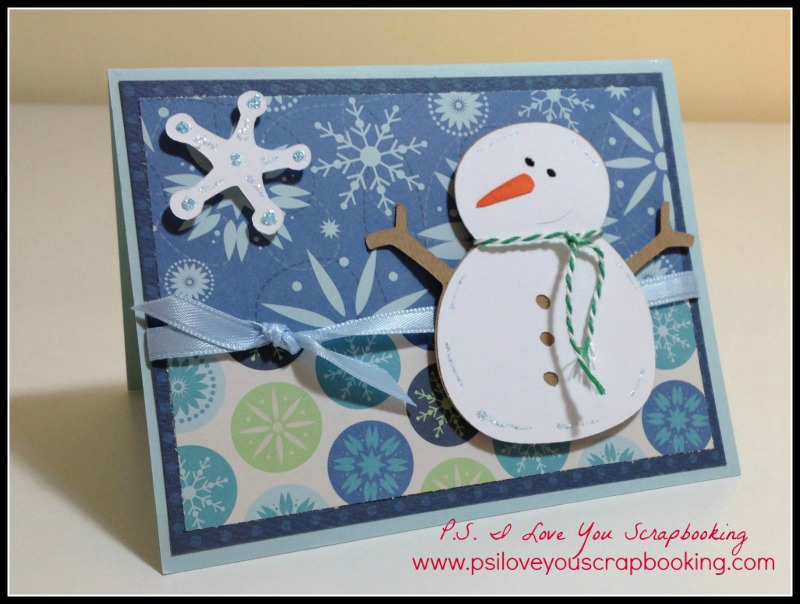 Handmade christmas cards p s i love you crafts for Handmade christmas card making ideas