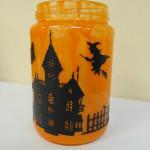 Halloween Mason Jars Using Expressions Vinyl