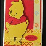 Winnie the Pooh Cricut Card