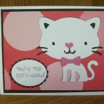 You're the Cat's Meow - Cat from Create A Critter Cricut Cartridge