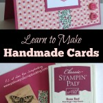 Learning to Make Handmade Cards