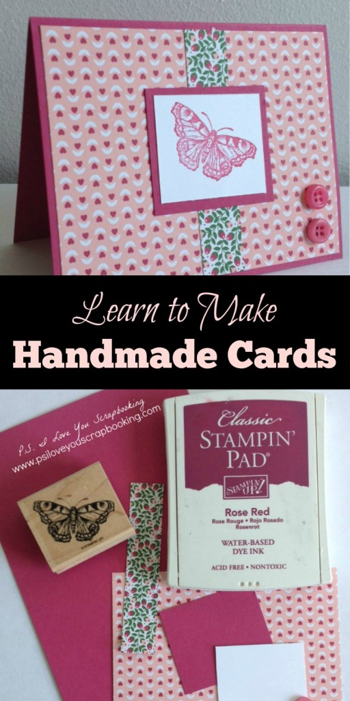 Learn to Make Handmade Cards Title