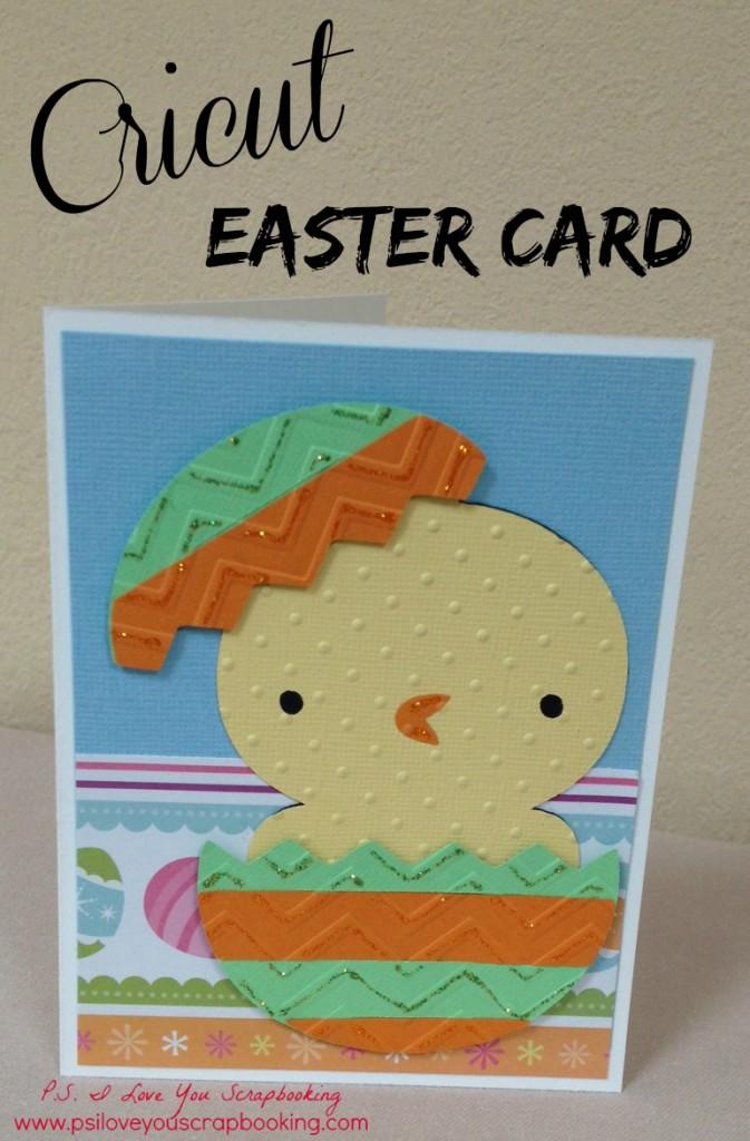 cricut easter card title