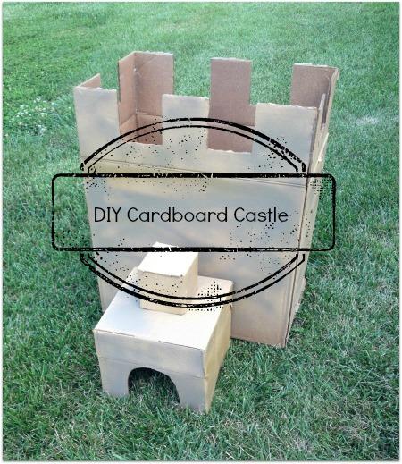 diy cardboard castle title