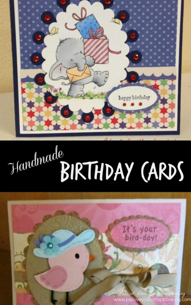 handmade birthday cards title