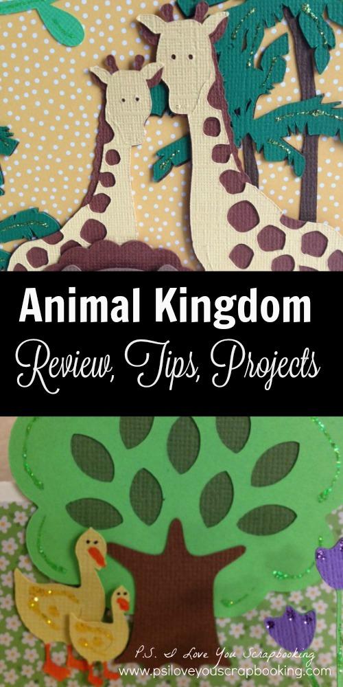 Animal Kingdom Cricut Cartridge Title