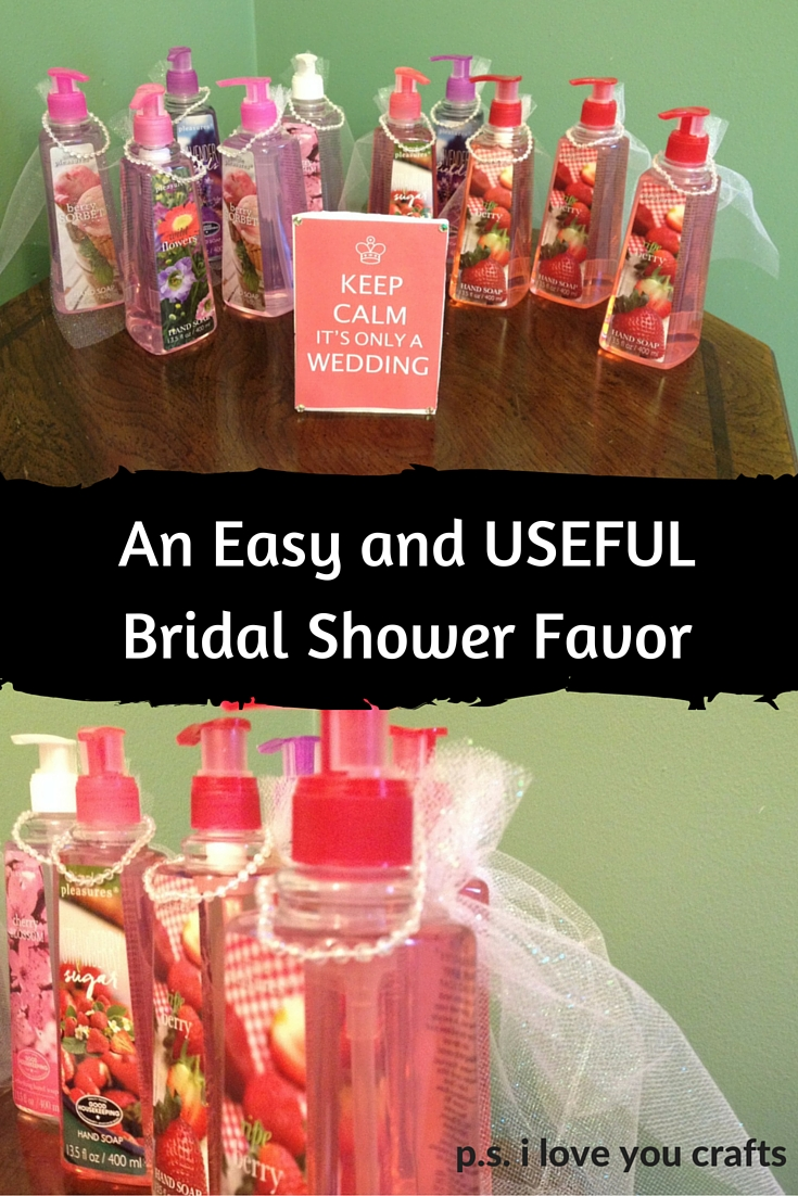 Diy Bridal Shower Gift Ideas For Guests : Bridal Shower Favors - These DIY Bridal Shower Favors are so easy to ...