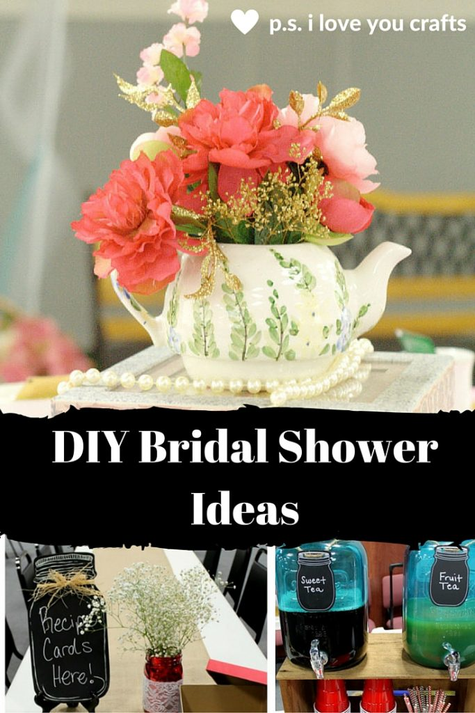 Are you planning a bridal shower? Here are lots of DIY Bridal Shower Ideas. Themes, favors, shower gift ideas, decorations, invitations, and more.