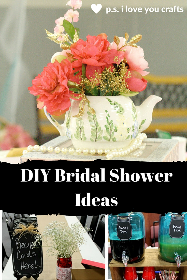 Diy Bridal Shower Gift Ideas For Guests : ... DIY Bridal Shower Ideas. Themes, favors, shower gift ideas