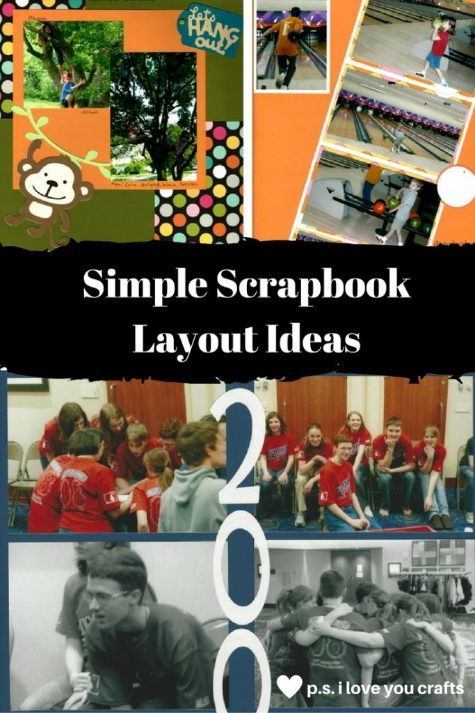 Do you need Simple Scrapbook Ideas? Getting all of your photos into scrapbooks may seem like an overwhelming task. One of the biggest obstacles is ideas for simple scrapbook pages that won't take a lot of time to create. Here are some tips and sample layouts for Simple Scrapbook Ideas.