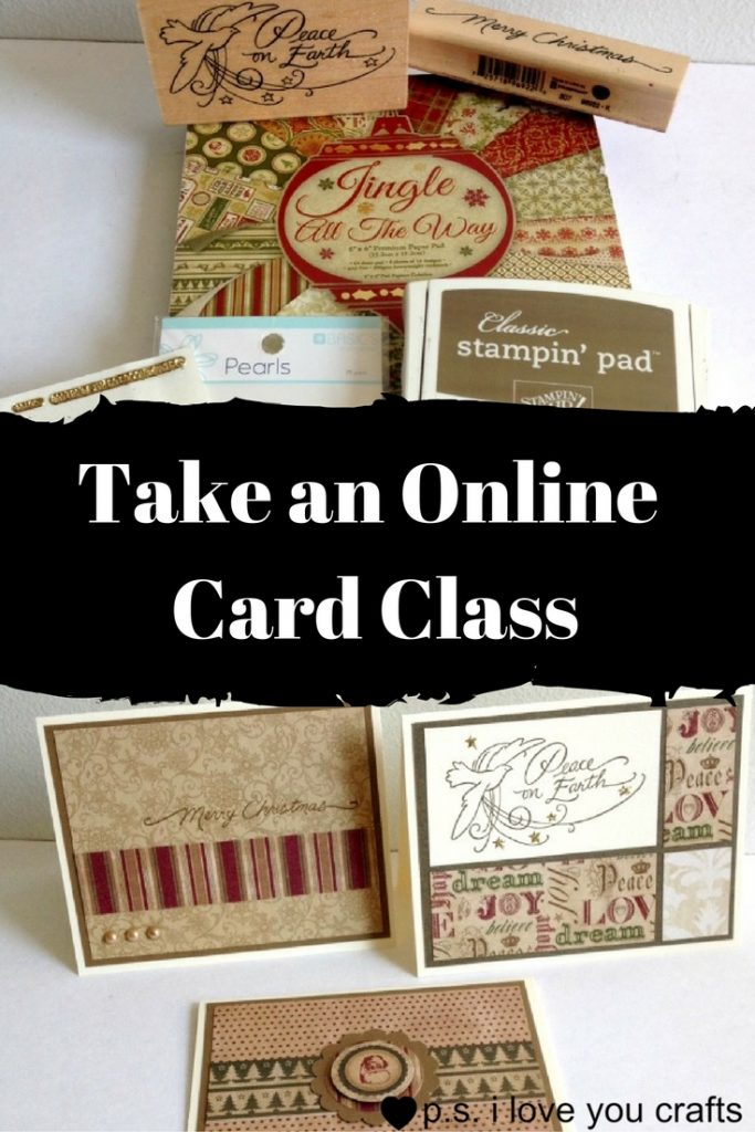 Have you been wanting to learn how to make handmade cards? The list of supplies and tools can be overwhelming, but I'm creating an online card class that will help you get started.