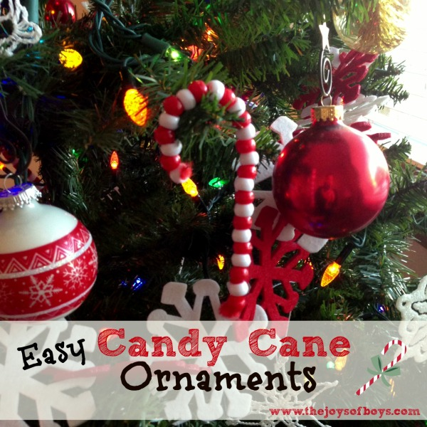 65 handmade christmas ornaments to make this weekend p s for Candy cane crafts for adults