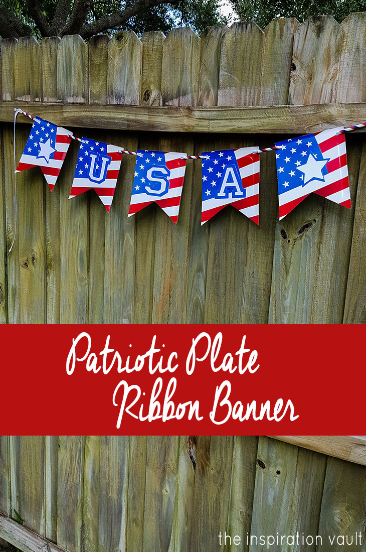 Diy pennant banners for parties and home decor p s i for Patriotic welcome home decorations