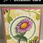 Simply Stamps Daisy Card