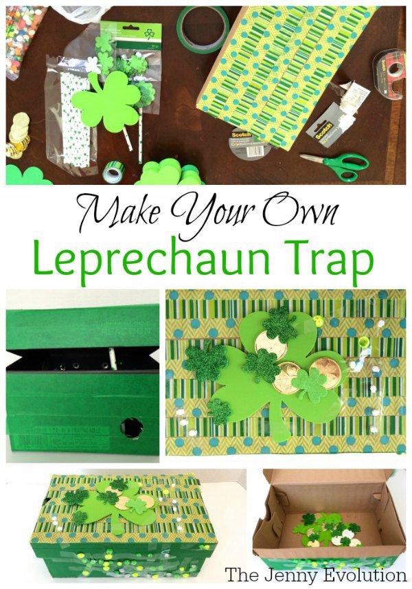 Leprechaun Classroom Visit Ideas ~ St patrick s day paper crafts p i love you
