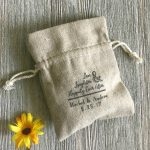 Personalized Wedding Favors for a Rustic or Beach Wedding